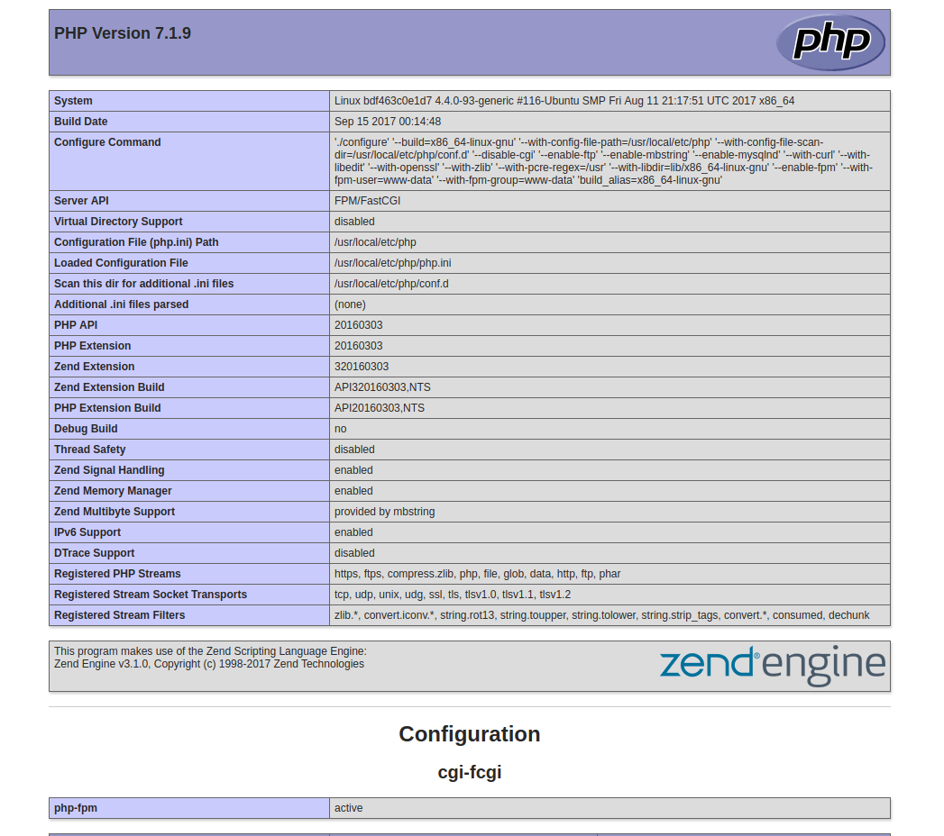 再谈docker搭建nginx+php+mysql开发环境